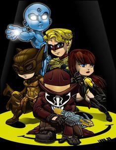 Lil Watchmen by *lordmesa