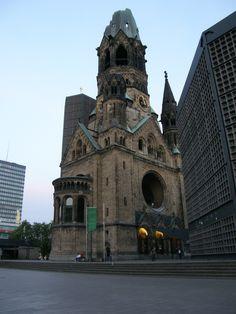 Vestige de la 2ème guerre. Berlin en Allemagne. Voyage en Europe de l'Est en 2008.