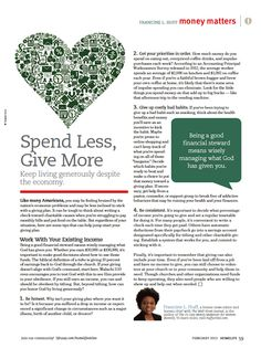 Productive, Session 3: Spend Less, Give More