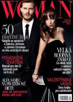 Dakota and Jamie for Woman Magazine