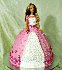 barbie-thailand: barbie cake