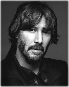 WHY DO WE LOVE KEANU? Because when we see a picture of him with bangs, we remember the emotional turmoil he was coping with at that time and his strength & vulnerability make us love him even more. (chicfoo) keanu