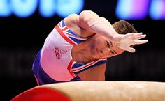 Brinn Bevan of Great Britian competes on the Vault during day six of World Artistic Gymnastics Championship at The SSE Hydro on October 28 2015 in...