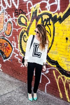 The Letter L | New York City Style Blog - OnTheRacks