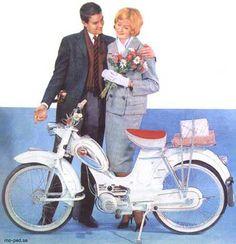 Bilderesultat for moped reklame