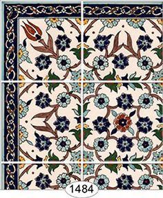 """Dollhouse Wallpaper """" Decorative Tile 1484 """""""