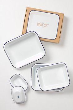Enamelware Bake Set
