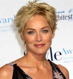Chic Short Hair for Women Over 50