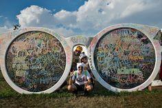 Giant Sunglasses - Lollapalooza 2013 #Sunglasses