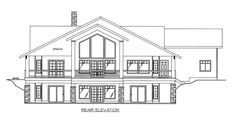 This lovely Craftsman style home with Traditional influences (House Plan has 3304 square feet of living space. The 1 story floor plan includes 3 bedrooms. Lake House Plans, Mountain House Plans, Best House Plans, House Plan Creator, Bungalow Style House, Basement Floor Plans, Build Your Own House, One Story Homes, Square Feet