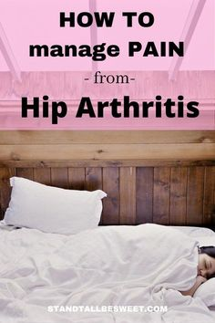 There are many ways to manage hip arthritis pain. You can take medication or get injections to relieve the main temporarily. The more effective ways might be available although they are not too easy. Chronic Anemia, Chronic Illness, Chronic Pain, Hip Strengthening Exercises, Physical Therapy Exercises, Hip Arthritis, Arthritis Treatment, Hip Pain Relief