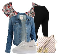 """""""chillan."""" by xofashionislife ❤ liked on Polyvore featuring NYDJ, Fat Face, Vans, Louis Vuitton and Han Cholo"""