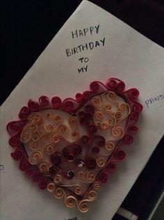 Love greeting card to husband
