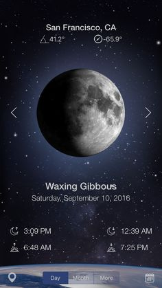 Waxing Gibbous, Moon Photography, Ios, Iphone, Gallery, Roof Rack