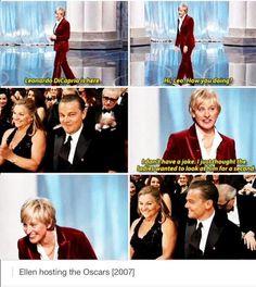 @lawniac: Reason why im happy that Ellen is hosting Oscars