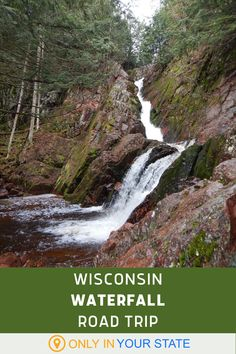 Enjoy some of Wisconsin's tallest waterfalls on this fun, family friendly road trip. It's perfect for nature lovers and photographers alike. Up for a little drive this summer (or spring, or fall)? Wisconsin Waterfalls, Places To Travel, Places To See, Dubai Skyscraper, Summer Travel, State Parks, Family Travel, Road Trip, Explore