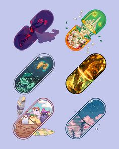 Pills collaboration with those amazing artist was such a honor 😍😍😍 I absolutely love them all, every pill is so unique and beautiful! Thank you guys for invite me into this collab.💙 Enjoy guys, which one you will take is on you 😁😊 - Aesthetic Drawing, Aesthetic Art, Aesthetic Anime, Arte Do Kawaii, Kawaii Art, Cute Art Styles, Cartoon Art Styles, Kawaii Stickers, Cute Stickers