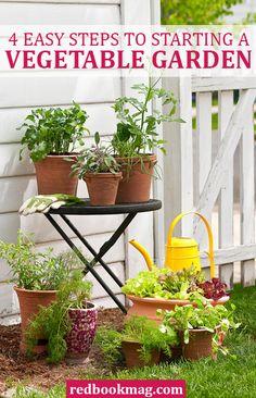 4 Steps to Starting a Vegetable Garden  - Redbook.com