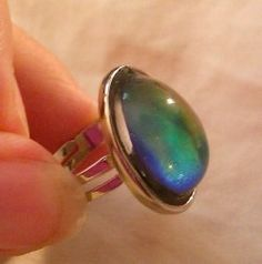 Mood Rings...I had one of these..watch in wonder as the ring changed from blue to green to black