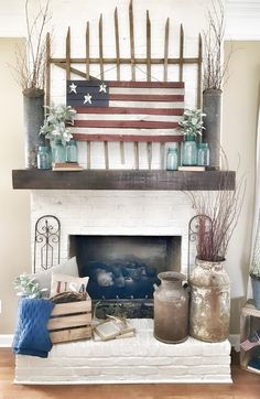 Happy Sunday!! We are only 9 days away from the 4th of July party people!! Can you believe that?? My life has been so hectic lately that I just got around to putting a little red, white, and blue in my living room. Better late than never I guess. Am I right?? I know the …