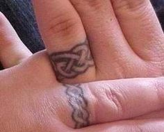 I like the celtic knot idea, though not sure if this might be too wide a band for me. I'd like it pretty narrow so I can still wear it with my regular ring too...