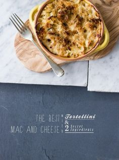 The Best Mac and Cheese (with tortellini) | Food & Drink |  #bread #creamcheese #easy