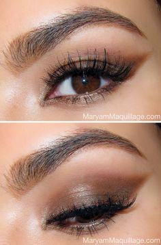 The Sultry Cat Eye • Gonna' try this one of these weekends. Another argument for getting the Nakeds Palette!