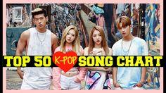 [TOP 50] K-POP SONGS CHART • JULY 2017 (WEEK 4)