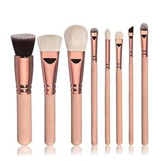 Makeup Brushes Set Foundation Cosmetic Makeup Brush Blusher Eye Shadow Brushes Set Kit Gold >>> Learn more by visiting the image link. (This is an affiliate link) It Cosmetics Brushes, Eyeshadow Brushes, Makeup Cosmetics, Face Brushes, Cosmetic Brushes, Makeup Contouring, Makeup Guide, Makeup Tools, Makeup Products