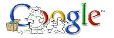 Google Doodle: Happy Holidays from Google 2001 (2)