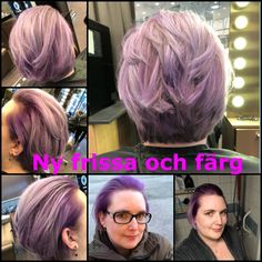 Mitt hår som Amanda på headspot i vällingby har fixat idag