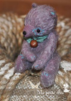 Mohair Teddy Bear by Edemskaya Anna