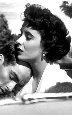 Montgomery Clift & Elizabeth Taylor ~ A Place in the Sun, 1951