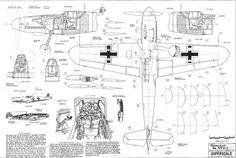 messerschmitt bf 109 planos - Buscar con Google