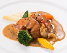 Braised Lobster, Truffle Sauce