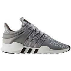 Adidas EQT Support ADV Running Shoes (€100) ❤ liked on Polyvore featuring men's fashion, men's shoes, clonix, mens lace up shoes, mens breathable shoes and adidas mens shoes