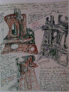 """Colette Delozanne. """"Los Emblemas de la vida"""". Cuadernos (bitácora) de dibujos."""