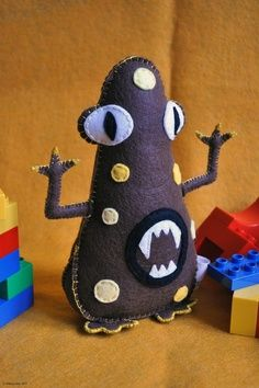 Monster Stuffed Animal Pattern | 59 Plush Felt Monster