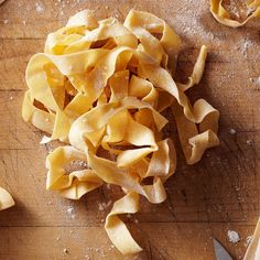 How to Make Homemade Tagliatelle #Pasta