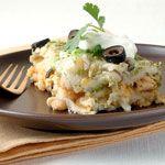 Chicken Enchilada Casserole Recipe | MyRecipes.com