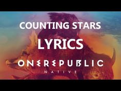 One Republic - Counting Stars - Lyrics Video (Native Album) [HD][HQ] FREAKING LOVE THIS SONG FREAKING LOVE ONE REPUBLIC AND FREAKING LOVE MICHELLE SHAMWELL! Great performance on #thevoice