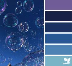 posted daily for all who love color. Colour Pallete, Colour Schemes, Color Palettes, Color Combos, Design Seeds Blue, Colours That Go Together, Flora Design, Dream Images, Color Studies