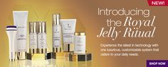 A whole skin care line with Royal Jelly as a main ingredient!