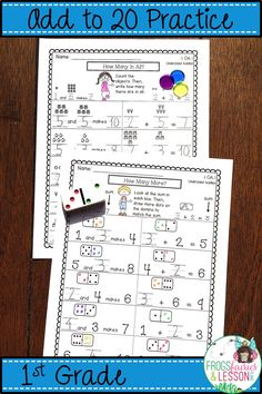 This 1st Grade Addition Packet starts with a review of basic addition concepts. Then it progresses into more rigorous practice that includes addition properties, addition strategies, missing addends in all positions, adding 3 numbers, word problems, fact families, and assessments for each of those concepts. 100% Common Core Aligned. Click on the picture and check out the preview today!