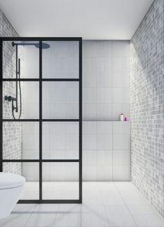 Dusjdør - Dominius AS Toilet, Divider, Bathtub, Bathroom, Glass, Furniture, Home Decor, Standing Bath, Washroom