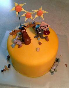 Rocky & Bullwinkle Cake