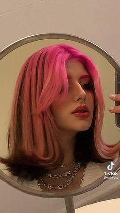 Hair Color Streaks, Hair Dye Colors, Hair Inspo, Hair Inspiration, Hair Reference, Dye My Hair, Grunge Hair, Goth Hair, Aesthetic Hair