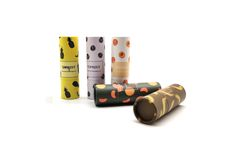 Lipstick paper tube of fruit series Lip Balm Packaging, Lipstick Tube, Packaging Solutions, The Balm, Usb Flash Drive, Fruit, Paper, Lip Balm, Usb Drive