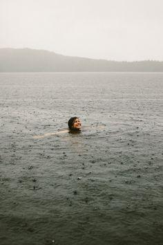 love swimming in the rain.                                                                                                                                                      More