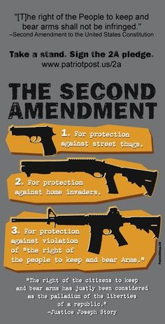 The Second Amendment #Guns